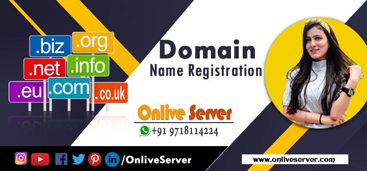 Get Best Domain Name Registration By Onlive Server