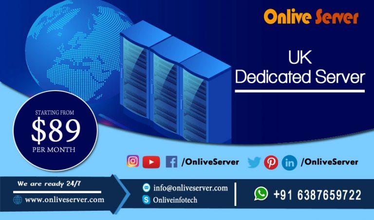 Get Fully Managed UK Dedicated Server from Onlive Server